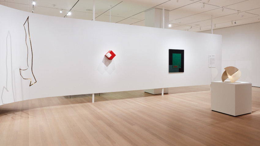 Installation view of Sur moderno: Journeys of Abstraction