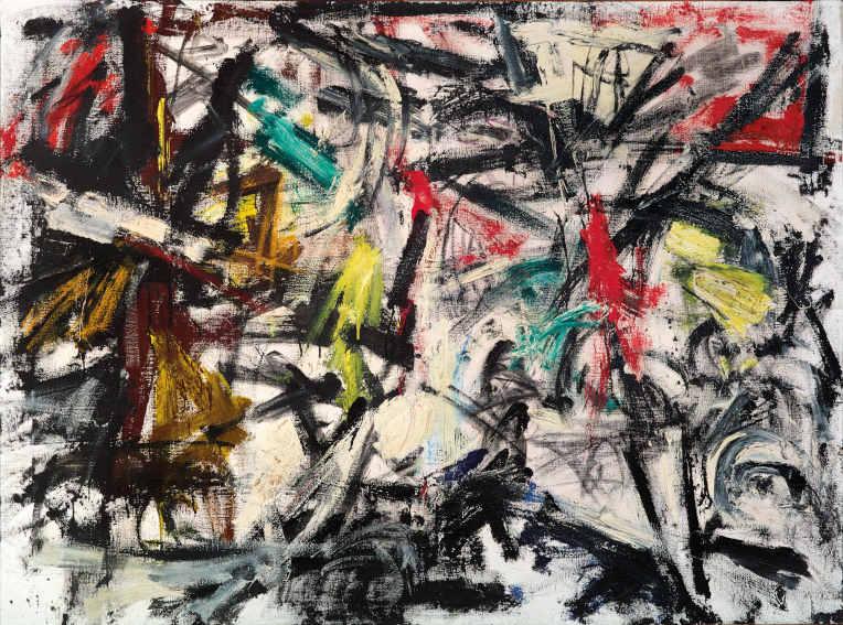 Emilio Vedova Tensione painting