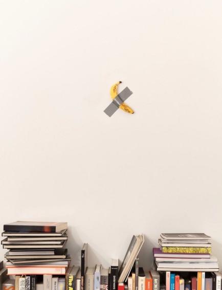 Maurizio Cattelan Comedian 2019 Banana and tape