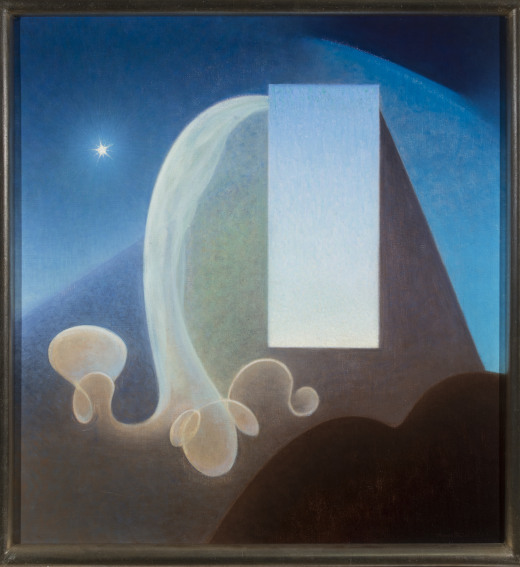 Agnes Pelton Day painting