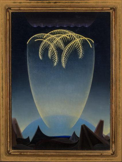 Agnes Pelton Messengers painting