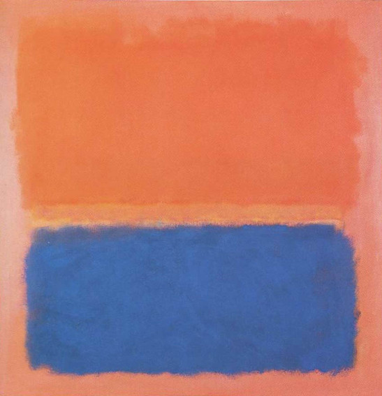 Mark Rothko Blue Cloud contemporary works of art