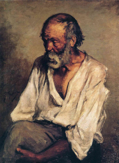 Pablo Picasso The Old Fisherman painting