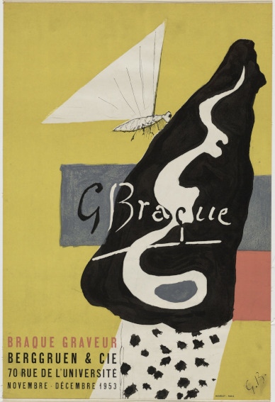 Cubism work of art by French painter Georges Braque