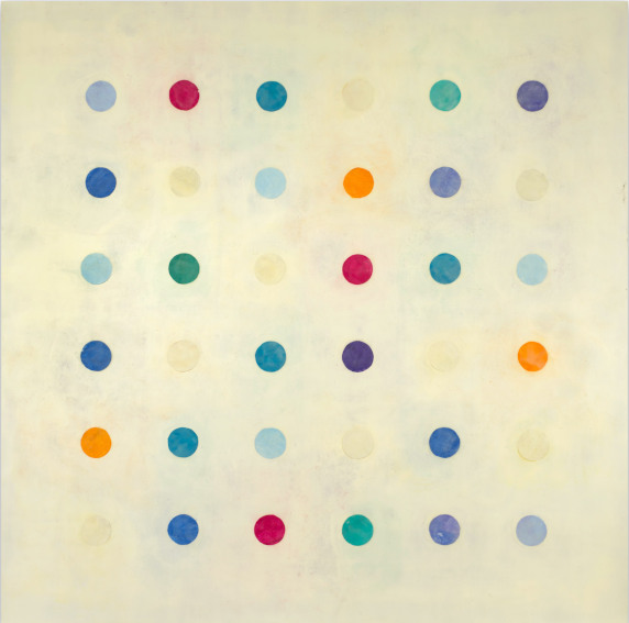 Tracey Adams (r ) evolution 39 painting