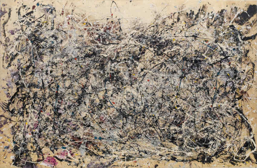 Art and life of American artist Jackson Pollock