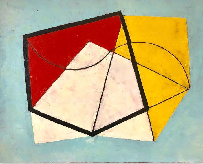 Jeremy Annear Jazz-Line painting