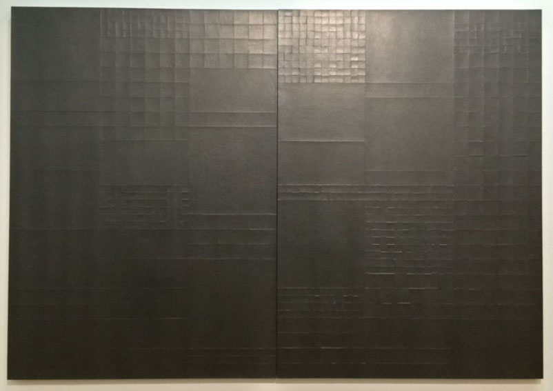 Gottfried Honegger Tableau-relief P760/1 P760/2 Exhibition at Centre Pompidou
