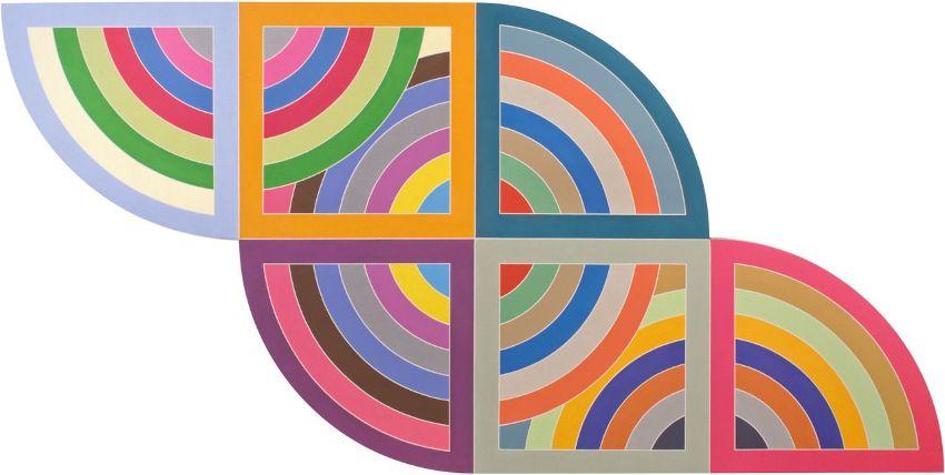 Frank Stella Harran II painting