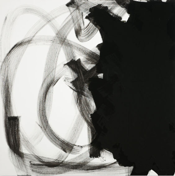 request price for abstract black and white pieces