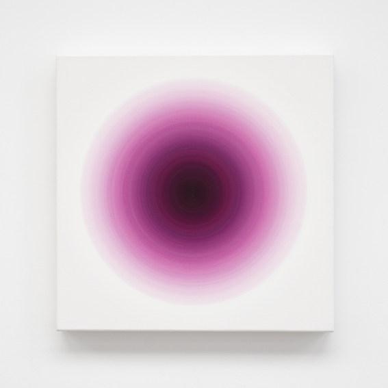 Oliver Marsden Cobalt Violet Pink Rose Harmonic painting