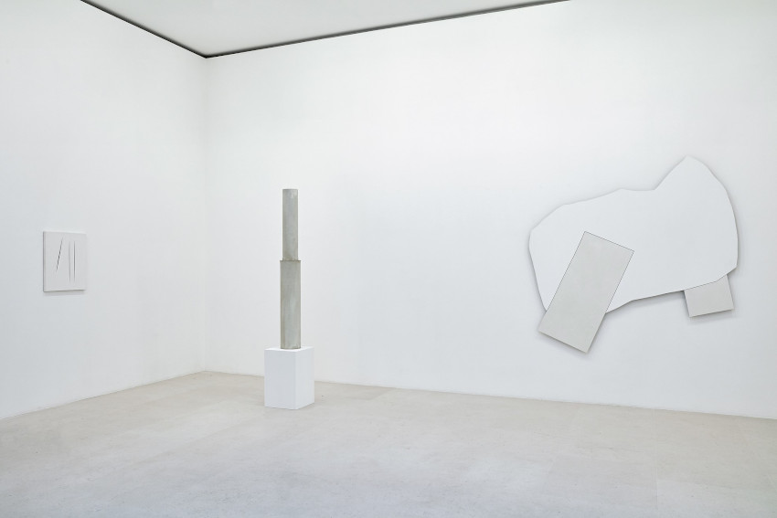 Gagosian Paris 2020 Blanc sur Blanc exhibition