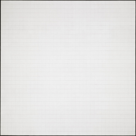 Agnes Martin Morning painting