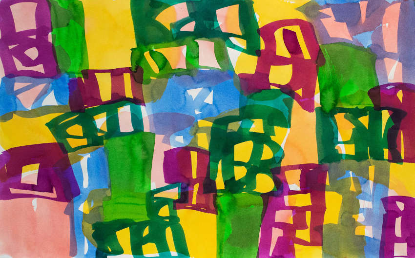 paintings and prints by the best abstract artists from the united states of america