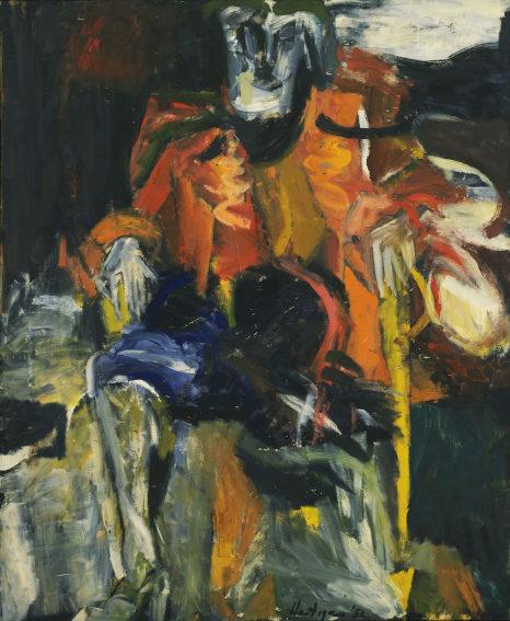 Grace Hartigan works at Museum od Modern Art Collection