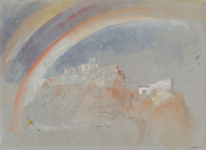 J. M. W. Turner Ehrenbreitstein with a Rainbow painting