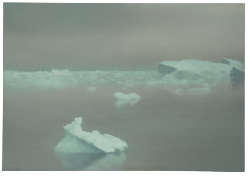 Gerhard Richter ice painting
