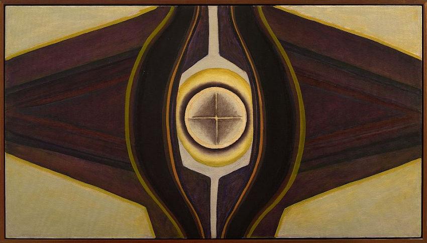 Ida Kohlmeyer Cloistered No. 9 painting