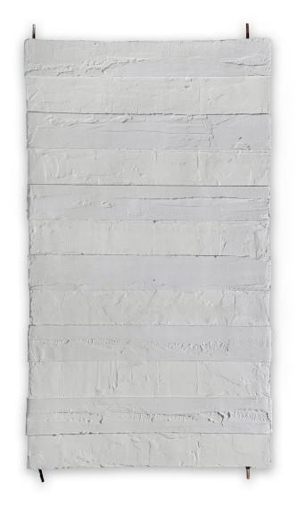 hang mixed media abstract art