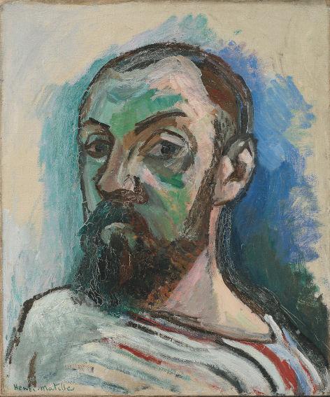 Henri Matisse Autoportrait 1906 painting