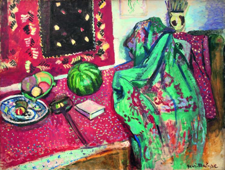 Henri Matisse Les Tapis rouges painting