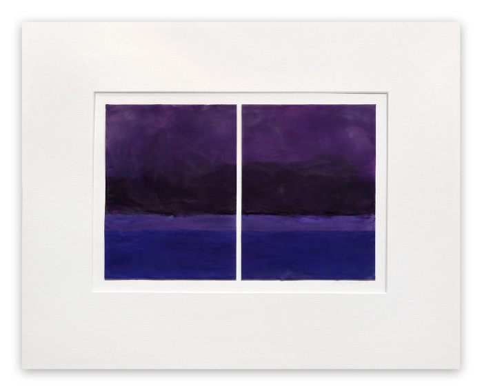 Janise Yntema Egyptian Violet painting