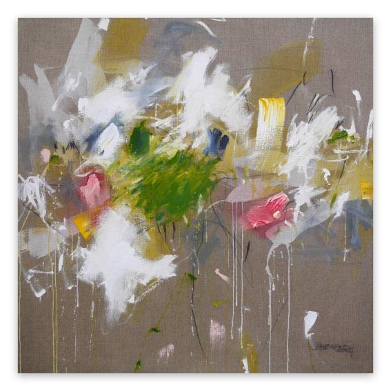 Daniela Schweinsberg A Breath of Summer V painting