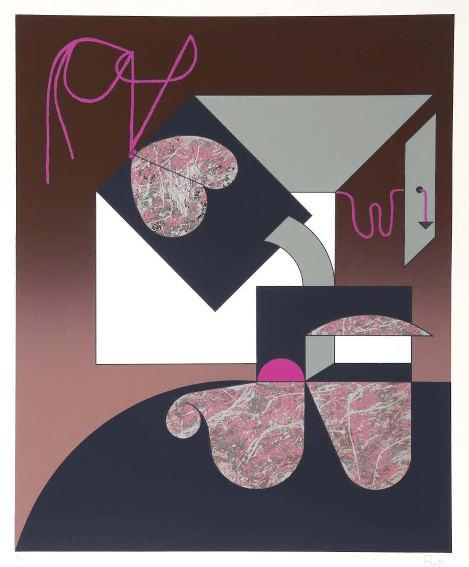 Manuel Felguarez Barra Untitled 1 silkscreen