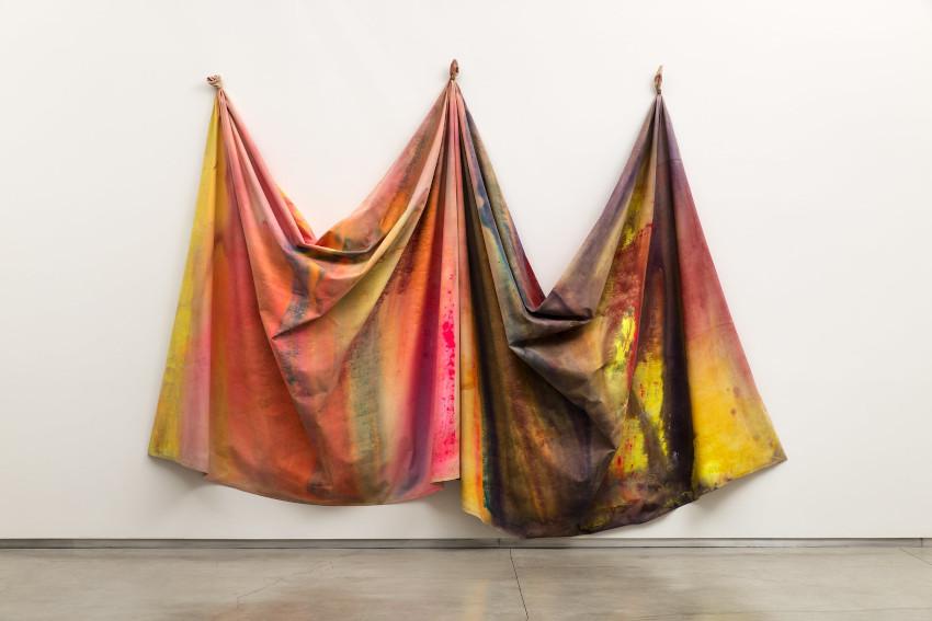 Sam Gilliam 10/27/69 installation