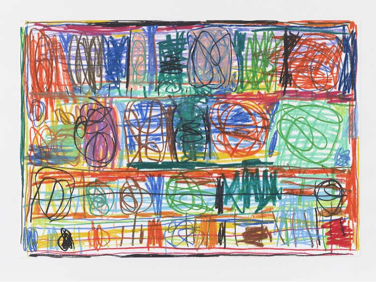 Stanley Whitney Untitled 2013 painting