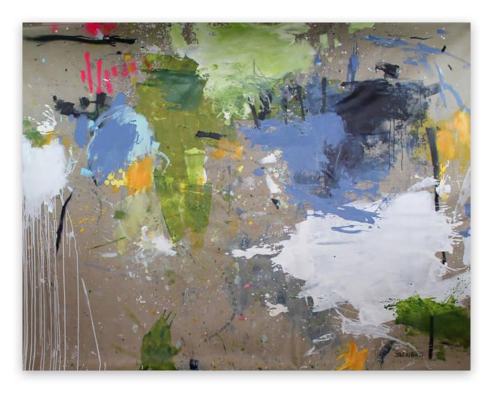 Daniela Schweinsberg Interstellar Voyage II painting