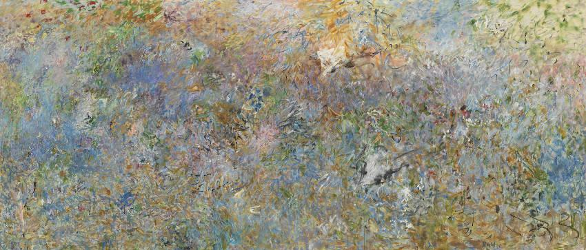 Pat Passlof Sky Pasture painting