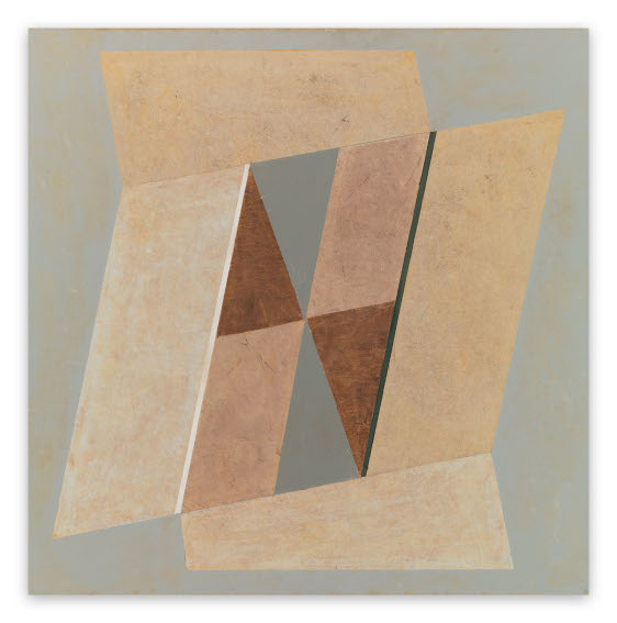 Jeremy Annear Random Geometry Opening painting