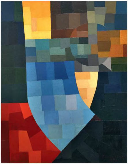 Otto Freundlich Composition painting