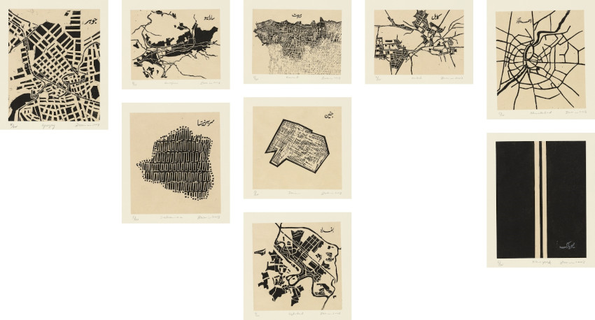 Zarina Hashmi 9 Works These Cities Blotted into the Wilderness