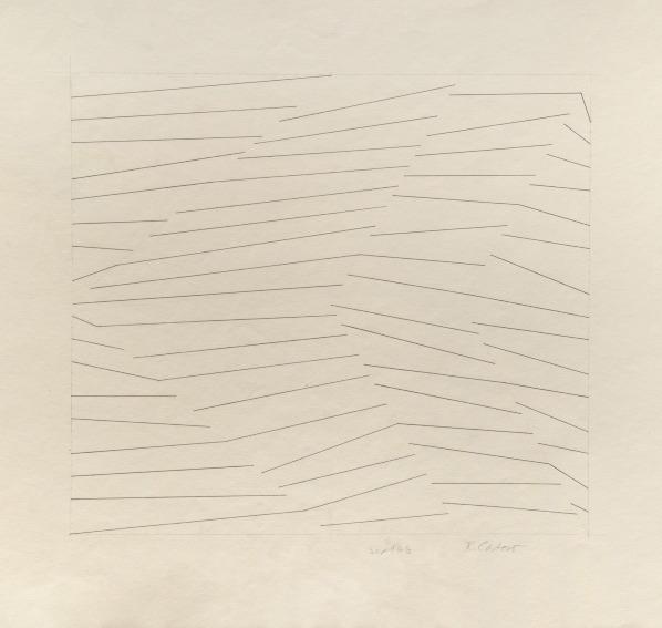 Rosemarie Castoro Sept 68 drawing