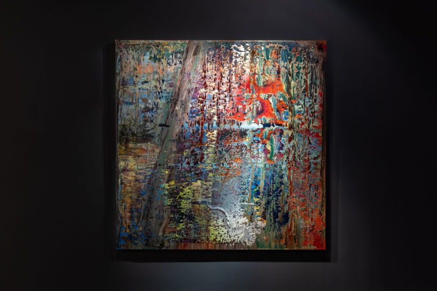 Gerhard Richter most expensive abstract artwork
