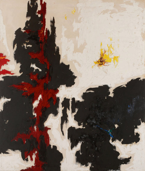 Clyfford Still PH 144 painting