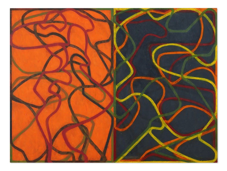 Brice Marden Complements painting