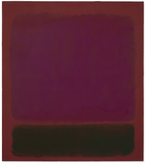 Mark Rothko Untitled painting