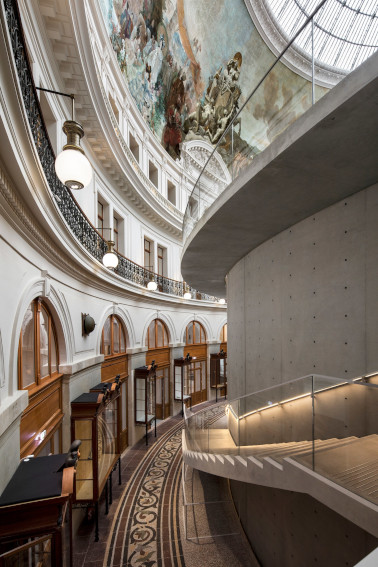 Bourse de Commerce Pinault Collection new contemporary museum opening in Paris France