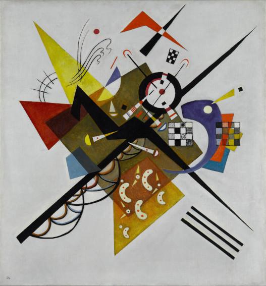 Vassily Kandinsky Auf Weiss II painting