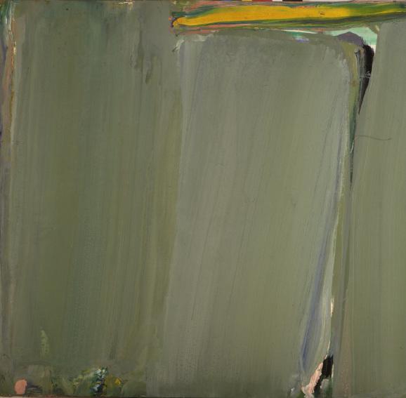 Olivier Debre Sans titre 1990 painting