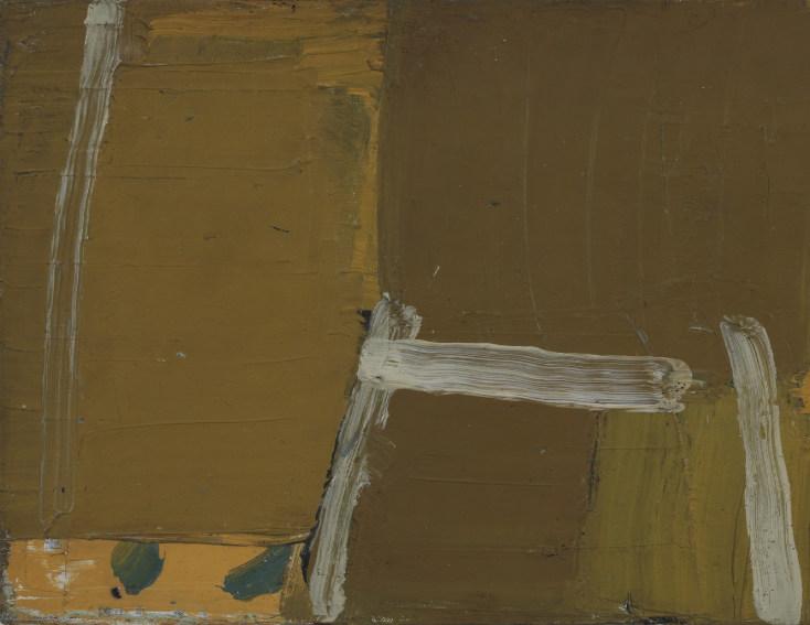 Olivier Debre Sans titre 1958 painting