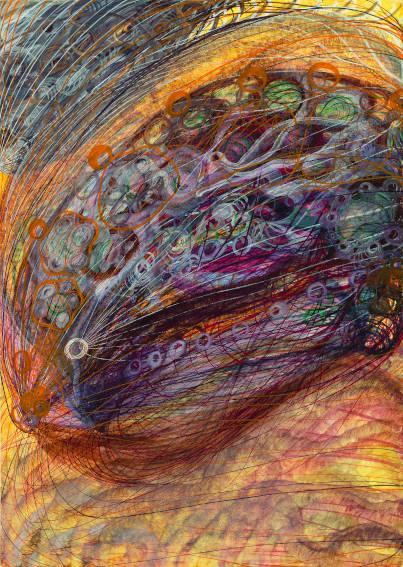 Georgiana Houghton Album of Spirit Art painting