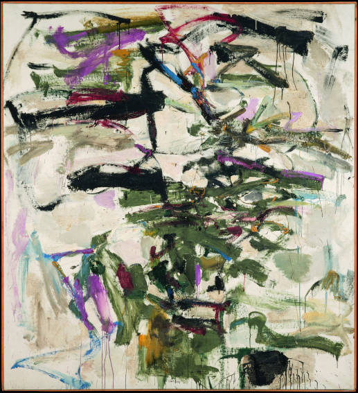 Joan Mitchell Mephisto painting