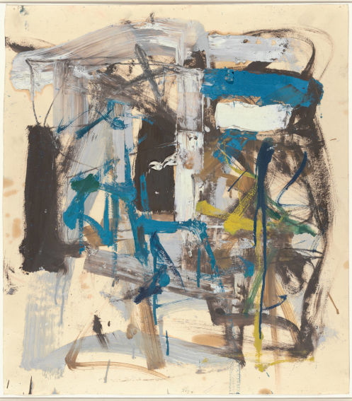 Joan Mitchell Untitled painting