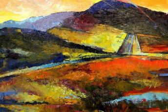 Amature Art Landscape Painting