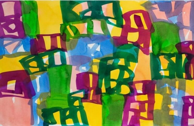 A Fine Relationship Between Calligraphy And Abstraction