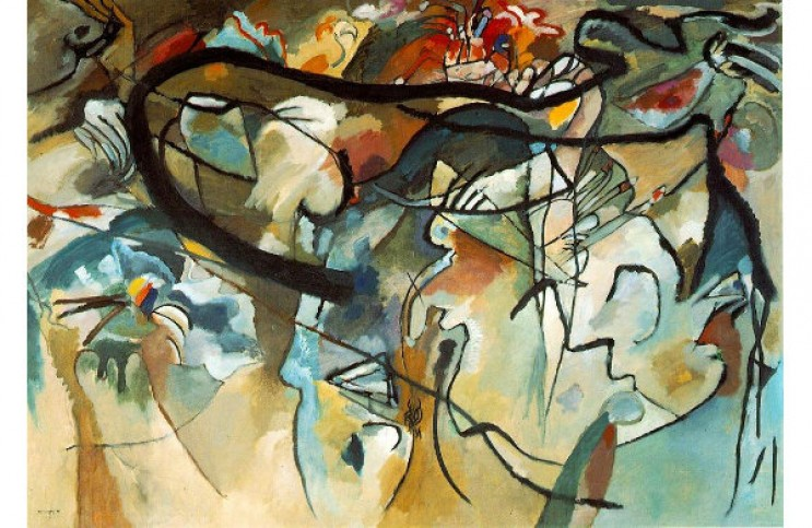 The Story Behind Wassily Kandinsky S Composition Vii Ideelart